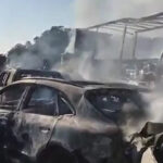 Brasil: Choque en cadena de 36 vehículos deja al menos 2 muertos y 20 heridos (VIDEO)