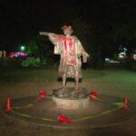 Vandalizan estatua de Cristóbal Colón en parque de Houston