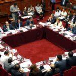 Congreso: Siete comisiones ordinarias se instalan mañana lunes 14 de agosto