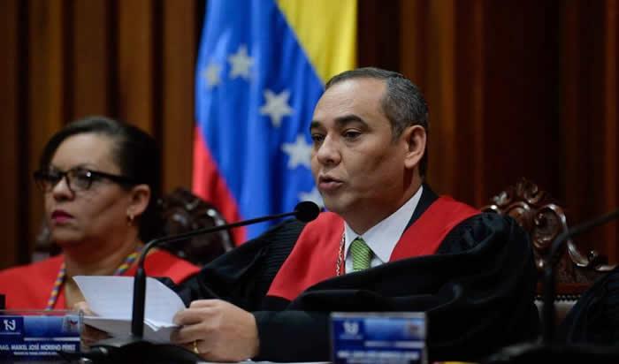 TSJ rechaza sanciones de EEUU a Nicolás Maduro