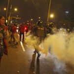 Huelga de profesores: Disturbios en Lima durante marcha de docentes (FOTOS)