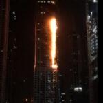 Emiratos Arabes: Incendio se desata en uno de los rascacielos más altos del mundo (VIDEO)