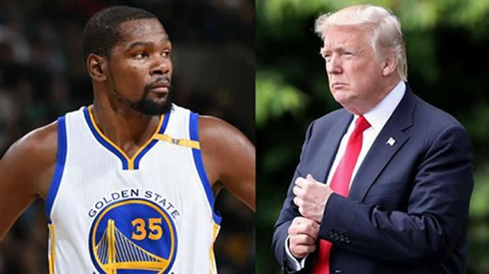 Yo no respeto a Trump — Kevin Durant