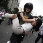 Huelga de maestros: Mira las protestas en el Centro de Lima (FOTOS)