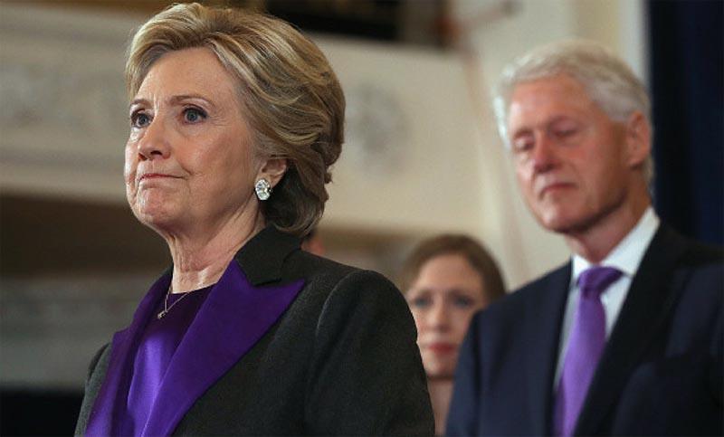 Clinton confesó que se sintió acosada por Trump