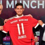 Bayern negoció con James salario neto de 7.6 millones de dólares al año