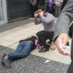 Jirón de la Unión: Una trabajadora muerta deja balacera (FOTOS)