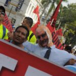Panamá: Obreros marchan contra la corrupción y piden una Constituyente