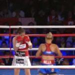 Linda Lecca retuvo título mundial AMB tras vencer a mexicana Fernández (VIDEO)