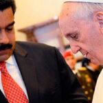 Maduro pide a Francisco ayuda para impedir que Trump invada Venezuela