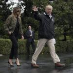EEUU: Critican a Melania Trump por ir a la zona de desastre con tacones aguja