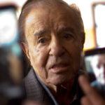 Argentina: Anulan sobreseimiento de Menem por explosión en fábrica militar