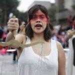 Ni una menos: Imágenes de la multitudinaria concentración (FOTOS)