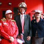 Kuczynski pide a peruanos apoyar trabajo de los bomberos (VIDEO)
