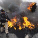 Bloqueo temporal de los accesos a Sao Paulo en protesta contra Temer
