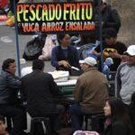 Huelga de maestros: Ambulantes de comida invaden plaza San Martín (FOTOS)