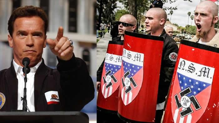 Su duro mensaje contra los grupos radicales en Estados Unidos — Arnold Schwarzenegger