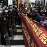 Lima: La protesta del Sutep en imágenes (FOTOS)