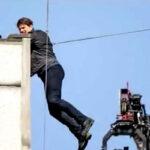 """Reino Unido: Tom Cruise se accidenta al saltar en """"Misión Imposible 6"""" (VIDEO)"""