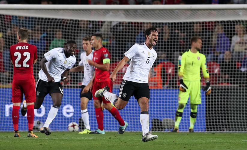 Resultado de imagen de República Checa 1-2 Alemania