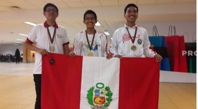 Escolar peruano gana bronce en XI Olimpiada Iberoamericana de Biología