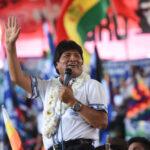 """Evo Morales dice que selección boliviana cumplió con """"misión histórica"""""""
