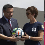 Barcelona pone primera piedra del nuevo Estadio Johan Cruyff
