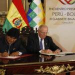 III Gabinete Binacional: Presidentes suscribieron acuerdos en Declaración de Lima