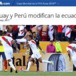 FIFA elige el Ecuador-Perú como el partido destacado de la fecha
