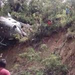 México: Se estrella helicóptero con ayuda para víctimas del sismo, 3 heridos