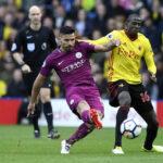Premier League: Manchester City golea 6-0 al Watford con triplete de Agüero
