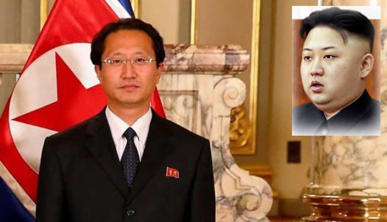 Perú declara persona no grata a embajador de Corea del Norte