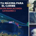 EEUU: Huracán María alcanzó máxima categoría 5 y avanza a isla de Dominica (VIDEO)