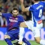 Liga Santander: Messi aporta un 'hat trick' en paliza del Barcelona a Espanyol por 5-0
