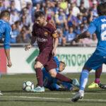 Liga Santander: Barcelona derrota por 2-1 al pundonoroso Getafe