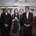 Mercedes Aráoz se reunió con los congresistas de la bancada aprista