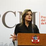 Mercedes Aráoz afirma que no habrá cambios en políticas públicas