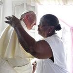 La señora Lorenza, la enfermera improvisada del papa en Cartagena