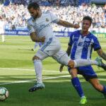 Liga Santander: Real Madrid embrollado derrota por 2-1 al Deportivo Alaves