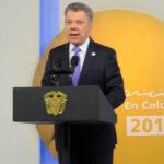 Colombia: Presidente Santos confirmó el cese al fuego bilateral con el ELN (VIDEO)