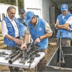 Colombia: Misión de la ONU terminó extracción de armas de caletas de las FARC