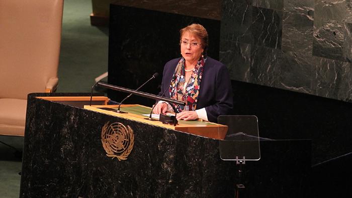 Michelle Bachelet promulgó la ley de aborto en sus tres causales
