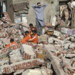 Aumentan a 33 los muertos y a 16 los heridos en derrumbe en Bombay