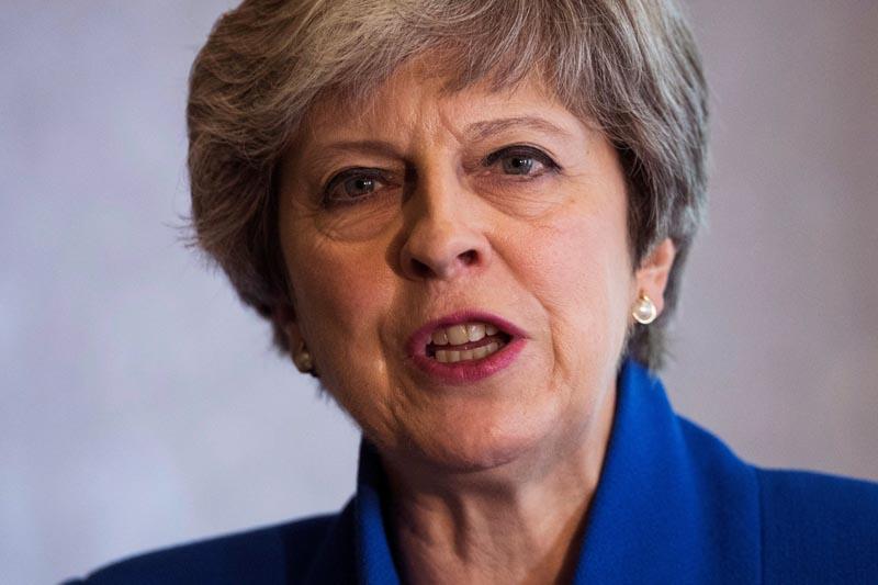 La primera ministra británica la conservadora Theresa May. EFE Will Oliver