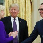 Secretario del Tesoro de EEUU solicitó avión militar para su luna de miel