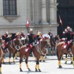 Palacio de Gobierno: Ministra Molinelli presidió tradicional Cambio de Guardia