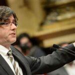 Presidente de Cataluña reabre web clausurada por la justicia española