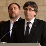 Puigdemont mantiene referendo y denuncia estado de excepción de facto