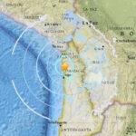 Chile: Sismo de 5,7 grados remeció esta tarde la costa de Tarapacá