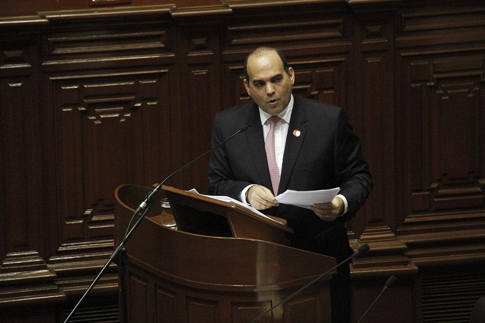 Zavala: Presupuesto ratifica compromiso de mejorar salud, educación y seguridad